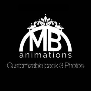 Customizable Pack 3 Photos