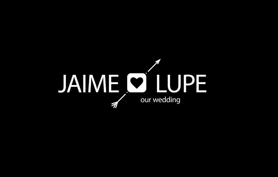 Animation wedding name anda date